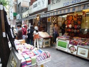 Insadong street scene