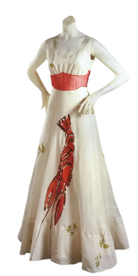 Elsa Schiaparelli And Dal 237 S Lobster Dress Studio Tea