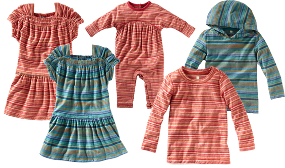 mexican market inspired striped childrens clothes