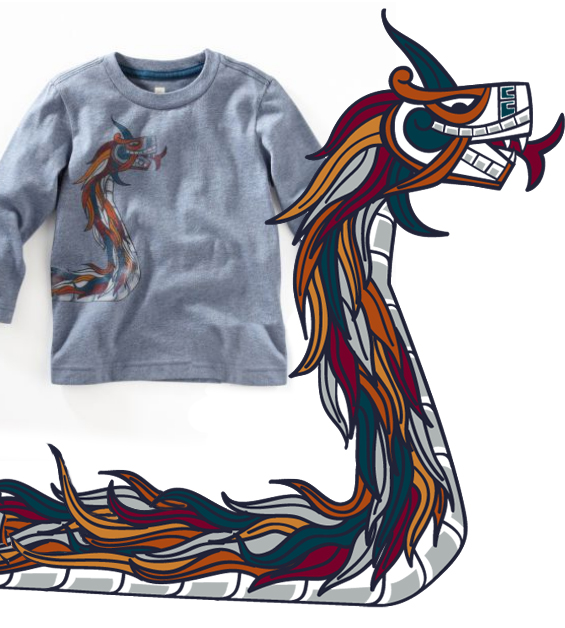 mexico dragon shirt