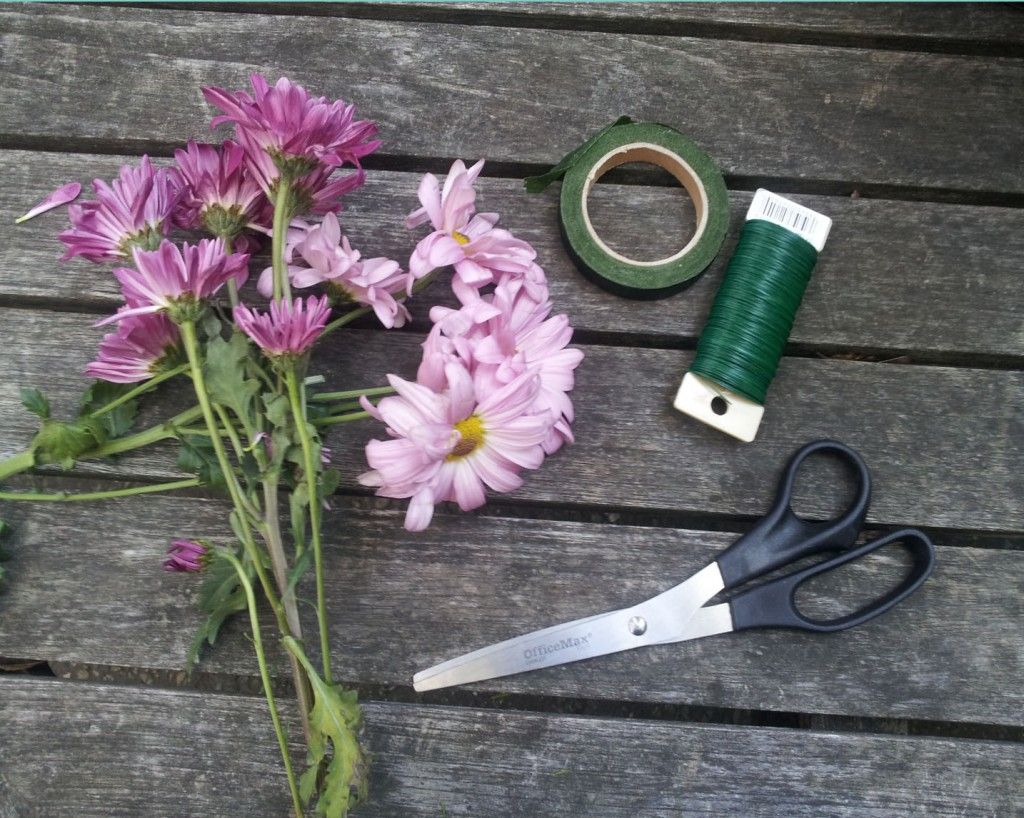 Supplies for DIY Flower Headbands