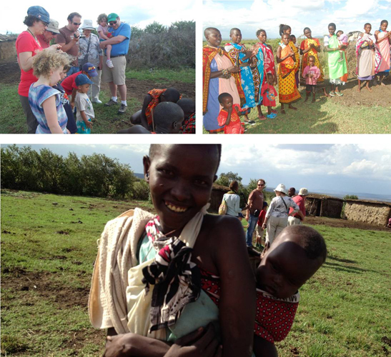 Travel with kids to Maasai Village in Nairobi, Kenya