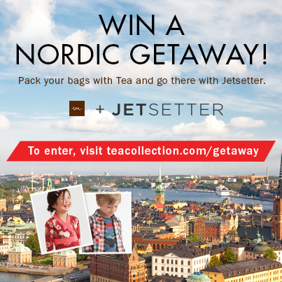 Sweepstakes with Tea Collection + Jetsetter