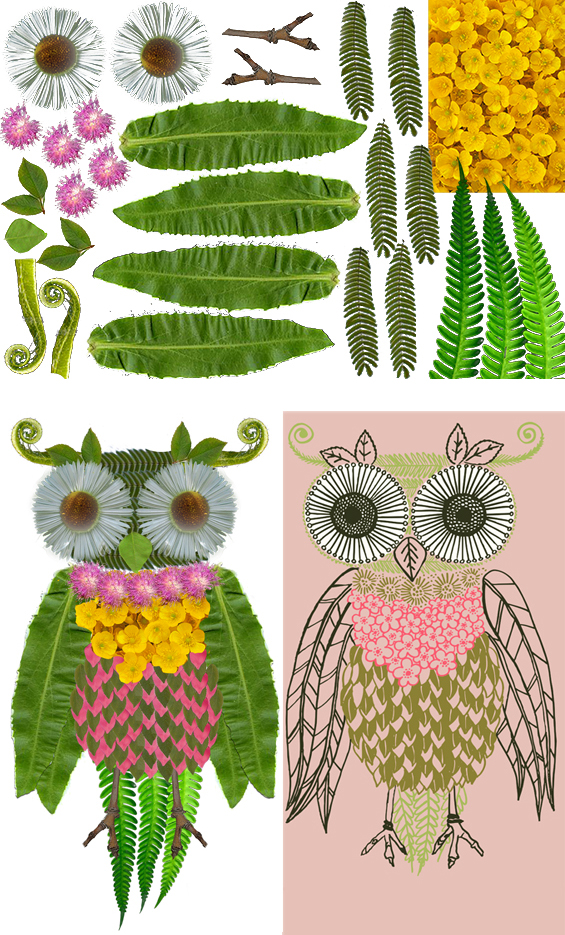 creating animals with plants activity