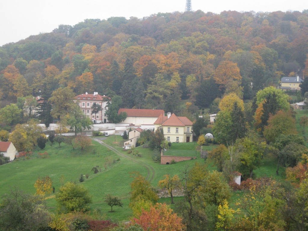 View from Petrin Hill.