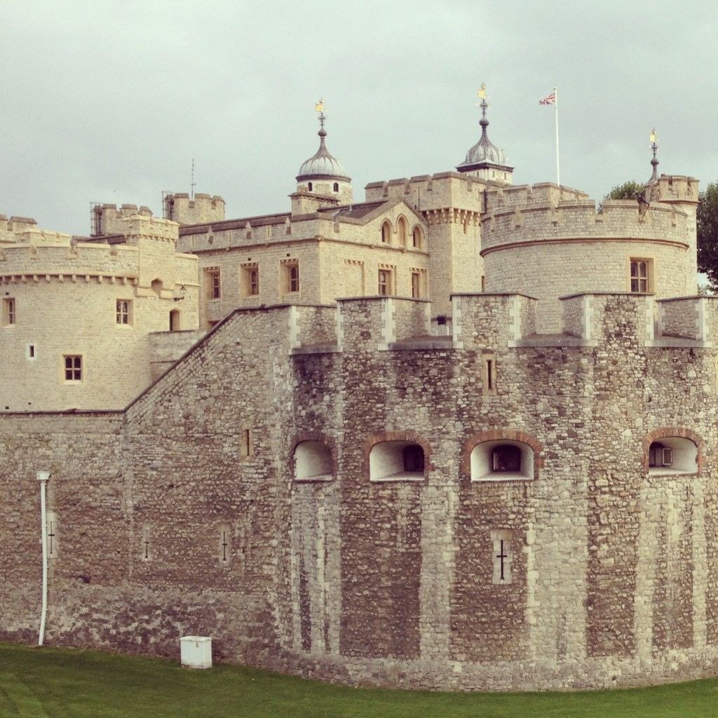 Tower of London on a cold December day