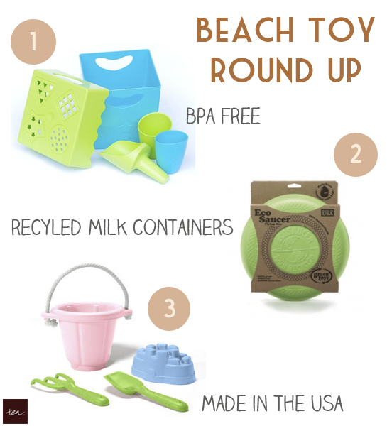 Tea Collection's Beach Toy Round Up