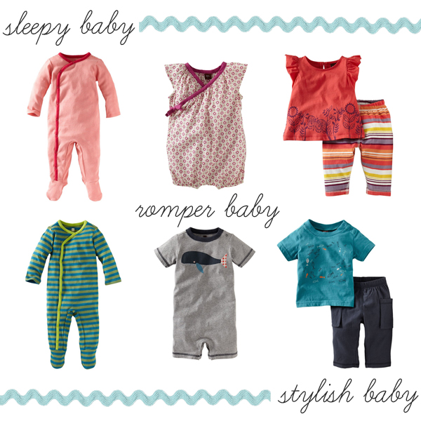 Welcome Baby Collection via teacollection.com