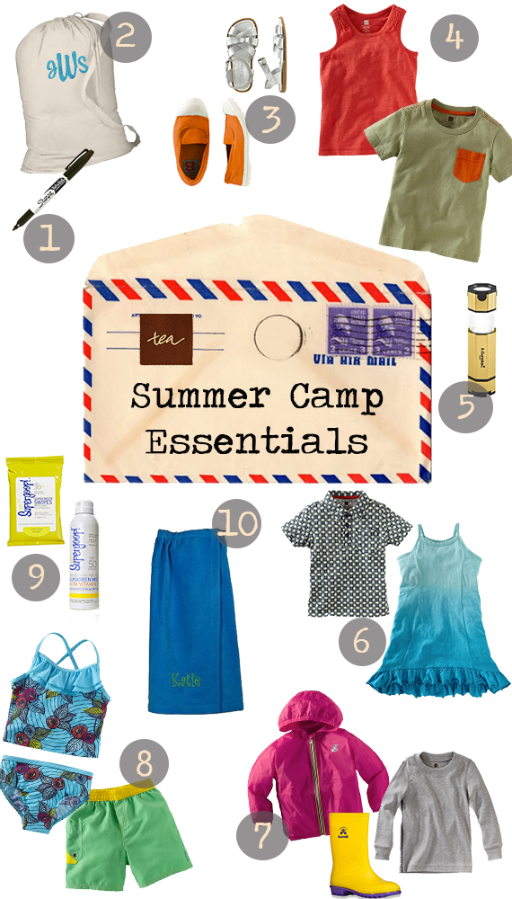 Summer Camp Essentials