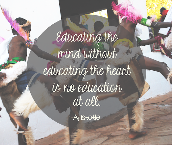 Educate Your Heart via teacollection.com