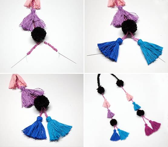 Tea Collection Tassel Necklace